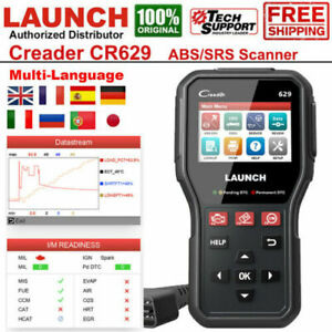 LAUNCH CR629 OBD2 EOBD Diagnostique Scanner Code Lecteur SRS ABS Airbag SAS OIL
