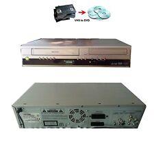 Toshiba D-VR16 DVD & VHS Recorder VCR Tapes Transfer Converter Combo DivX DVR16