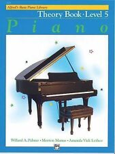 Alfred's Basic Piano Library: Alfred's Basic Piano Theory Book, Level 5 Bk 5...