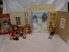 Moxie Girlz Jammaz Dollhouse + Dolls Barbie & Bratz size  Doll House