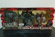TRANSFORMERS ROTF GATHERING AT THE NEMESIS MEGATRON THE FALLEN SOUNDWAVE MISB