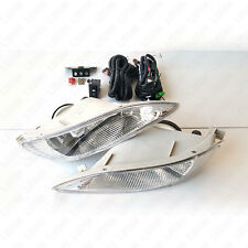 Clear Fog Light For 2005-2008 Toyota Corolla with Switch Wiring Bulbs Left Right