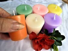6pk TRIPLE scented soy VOTIVE candles...U-pick scents. Handmade by seller.