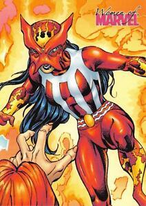 SUNPYRE / Women of Marvel 2008 BASE Trading Card #70