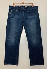 AG ADRIANO GOLDSCHMIED Tomboy Crop Jeans Size 29 Relaxed Straight Crop 8Y Dark