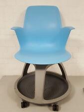 1 x Steelcase Node Chairs, Student / Patient Chair,  with Desk & Under Storage
