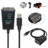 1m USB 2.0 an seriellen RS-232 DB9 9Pin Adapter Konverter FTDI Chipsatz