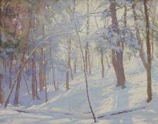 Palmer Launt Walter Winter Woods Canvas Print 16 x 20   #6061