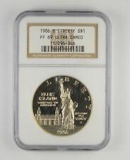 PF69 UCAM 1986-S Statue Of Liberty Commemorative Silver Dollar -Graded NGC *126