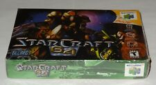 StarCraft 64 (Nintendo N64) Brand New Factory Sealed - Fast Ship!