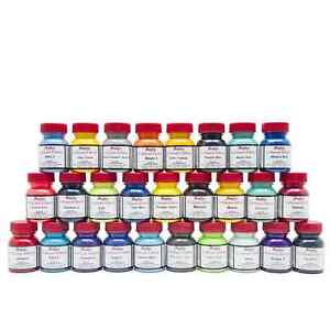 Angelus Leather Acrylic Paint 1oz Bottle Collectors Edition - Plenty Of Colours
