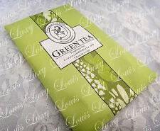Scented sachet hang fragrance freshener room drawer car Green tea 30g