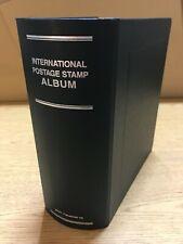 Large Blue SCOTT International 2-Post Philatelic Stamp Album