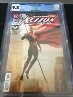 ACTION COMICS #997 KAARE ANDREWS FLAG VARIANT DC COMICS 2018 CGC 9.8