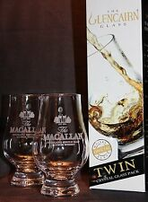 Macallan Twin Pack Glencairn Whisky Tasting Glasses
