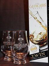 Macallan Twin Pack Glencairn Whisky Tasting Glasses