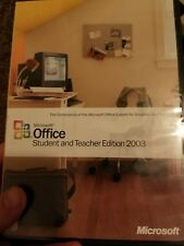 Microsoft Office Student and Teacher Edition 2003 - Full Version for Windows 50…