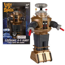 "Lost In Space B9 Robot Golden Boy Electronic 11"" Figure Exclusive Variant"