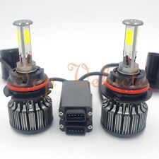 180W 18000LM LED Headlight Kit 9007 HB5 Hi/Low Beam Bulbs White 6000K High Power