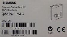 Sala de Siemens Termostato QAA29.11/ALG para la unidad de bobina de ventilador