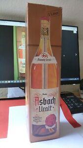 Asbach Uralt -1 Liter- von 1980  (Duty Free Flasche) - in  Folie und mit OVP