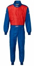 Traje de carreras Str club triple capa de FIA aprobada 8856-2000 Azul/Rojo Grande EU54-56