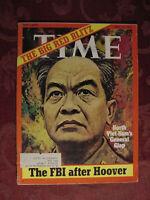 TIME May 15 1972 5/15/72 NORTH VIETNAM GIAP J. EDGAR HOOVER