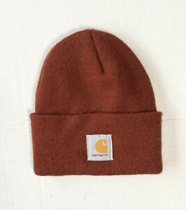 Carhartt Acrylic Watch Hat Brown One Size
