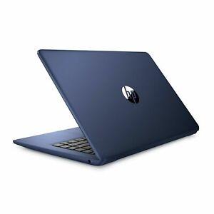 "HP Stream 14"" HD Intel  Celeron N4000 MS Office 64GB eMMC Webcam Win 10 blue"