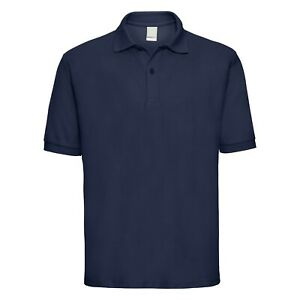 Mens Uneek Classic Polo Shirt - Plain Short Sleeve Pique Workwear Staff Uniform