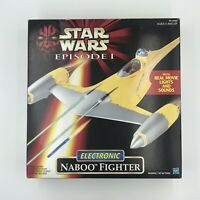 Star Wars Episode 1 Electronic Naboo Fighter 1998 Hasbro
