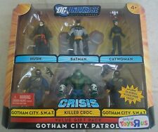 NEW DC UNIVERSE INFINITE HEROES GOTHAM CITY PATROL FIGURES BATMAN CROC HUSH! a6