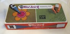 1970's Mini Sew' R Sew r Sew'r Sewing Machine As seen on Tv in Original Box T42