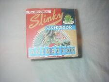ORIGINAL SLINKY ANIMATION FLIP BOOK TADPOLE TRANSFORMS INTO FROG NEW IN BOX