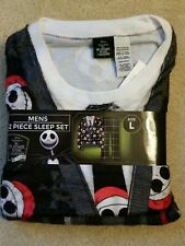 Disney Nightmare Before Christmas Men's Pajamas Jack Skellington PJS  NEW L XXL