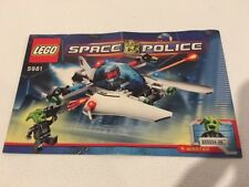 Lego Space Police 5981 Replacement Instructions Instructions Only