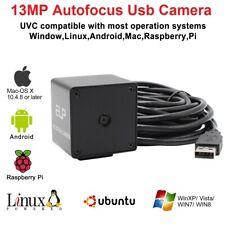 Autofocus USB Camera 13 Megapixel High Resolution USB2.0 SONY IMX214 Mini Webcam