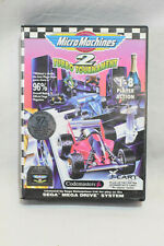 Micro Machines 2: Turbo Tournament - Sega Mega Drive - Boxed & Complete Manual