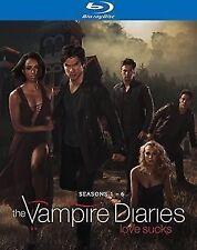 The Vampire Diaries - Season 1-6 Nina Dobrev Ian Somerhalder WHV Blu-ray UXX