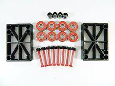 "ABEC 7 Precision Bearings + 1.5"" Color Hardware + 1/2"" Riser Pads"