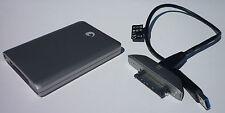 FreeAgent GoFlex USB 3.0 Ultra Portable Hard Drive 500GB USM silver boxed used