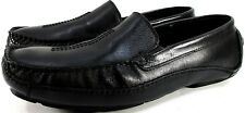 Clarks Mens Leather Driving Shoes Size 10M Black Style 26087736 Made In Brazil