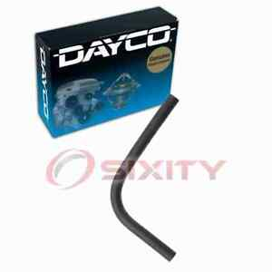 Dayco Pipe To Throttle Body HVAC Heater Hose for 1991-1992 Mitsubishi 3000GT ll