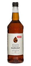 Simply Sugarfree Flavour Sirup Hazelnut 1 L, Haselnuss Kaffeesirup ohne Zucker