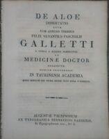 1811 ERBORISTERIA 'DE ALOE' STUDIO SULL'ALOHE DI GALLETTI DA CUNICO D'ASTI