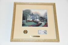 Mint Condition Framed Accent Print Thomas Kinkade Home Is Where The Heart Is Qvc
