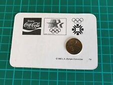 1984 USA Los Angeles Olympics Friendship Medallion
