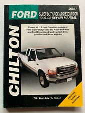 1999 2000 2001 2002 FORD SUPER DUTY PICK-UP TRUCK EXCURSION REPAIR MANUAL