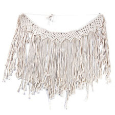 Woven Tassel Wall Hanging Tapestry Bohemian Style Home Wall Decor Art B