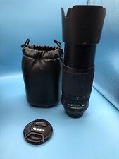 Nikon AF-S Nikkor 70-300mm 1:4-5,6 G ED VR Sehr guter Zustand